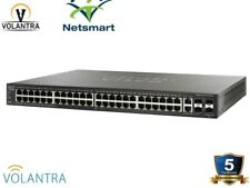 Cisco SG500-52P-K9-NA 48 Port Gigabit Ethernet PoE+ 2xGE/2x5GE SFP SG500 52P