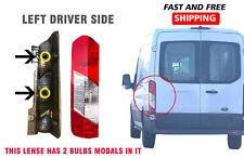 Ford Transit 1500 2500 3500 Tail Light Lens Left Driver 2016 2019