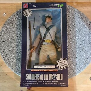 Soldiers of the World Civil War QM Sergeant Infantry 12/14