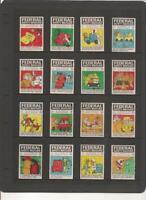 Australia 1970 Federal ROAD SAFETY Set 42 Matchbox Labels