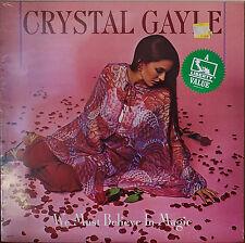 CRYSTAL GAYLE: We Must Believe in Magic-SEALED1981LP SAM BUSH/BUDDY SPICHER