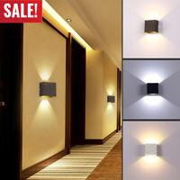 6W Modern Cube Led Wall Light Lamp Indoor Sconce Lighting Lamp Fixture Decor