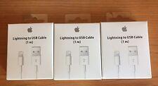 Cavo originale Apple Lightning Caricabatteria per IPHONE 7 6 6S 5 IPAD IPOD USB