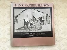 Henri Cartier-Bresson Masters Of Photography Book