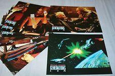 STAR TREK generations !   jeu 12 photos cinema lobby cards science fiction