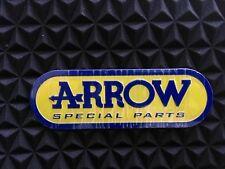 Arrow Special Exhausts 3D Exhaust Heat Proof Resistant Aluminium Sticker Decal