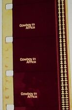 COWBOY IN AFRICA TRAILER 16MM FILM MOVIE ROLLED NO REEL E4