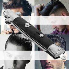 Automatic Push Button Pockets Folding Combs Switchblade Looking Hair Brush Knife