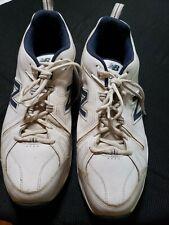 NEW BALANCE MX608V4W Men's Crosstrainers Shoes  White/Navy D GUC