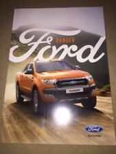 Ford Ranger españa original de salida folleto catálogo 46 páginas