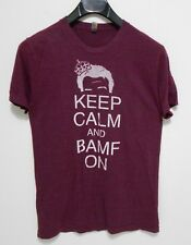 KEEP CALM AND BAMF ON T-Shirt - Men's Size M - Philip DeFranco Collectors RARE