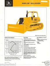 Equipment Brochure - John Deere - 850B - LGP Bulldozer - c1985 (E2103)
