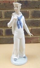 NAO by LLADRO Navy Sailor STATUETTA in PORCELLANA