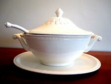 Vintage (1981) Fitz and Floyd Soup Tureen with Platter and Ladle