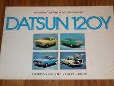 Catalogue DATSUN 120 Y de 1974