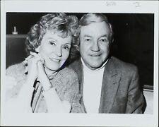 Jerome Lawrence , Martha Scott ORIGINAL PHOTO HOLLYWOOD Candid