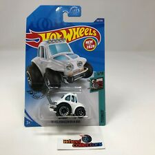 '70 Volkswagen Baja Bug #126 Tooned * WHITE * 2020 Hot Wheels * USA Case F * Q66