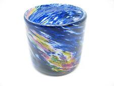 Ryukyu Aurora Rocks Glass (Handmade in Okinawa)