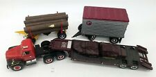 LMAS ~ First Gear Truck & Fossil Load, Log Load & Small Trailer