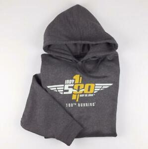 100th Running of Indy 500 XL Hoodie Sweater 2016 Indianapolis Motor Speedway