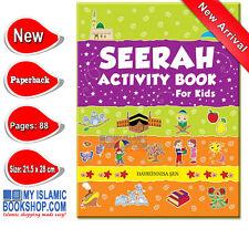 Seerah Activity Book for Kids Muslim Islamic Children Stories Books Gift Ideas