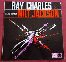 RAY CHARLES  MILT JACKSON LP ORIG FR BLUE GENIUS