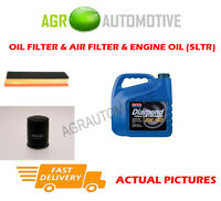 PETROL OIL AIR FILTER KIT + 0W40 OIL FOR CHRYSLER YPSILON 1.2 69 BHP 2011-