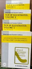 New listing 4 Books: Tcp/Ip Illustrated 3 volumes & Advanced Programming in Unix by Stevens