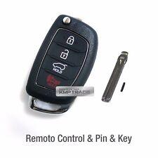 OEM Keyless Entry Fob Folding Key Remote Control Blank For HYUNDAI 15-17 Sonata