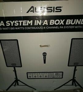Alesis PA System Bundle RRP£285