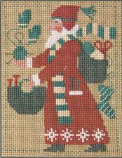2007 Yearly Santa Knitting Prairie Schooler Cross Stitch Pattern