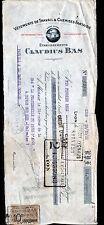 """LYON (69) USINE de CHEMISES & VETEMENTS de TRAVAIL """"CLAUDIUS BAS"""" en 1921"""