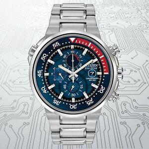 Citizen Eco-Drive Endeavor Stainless Steel Chronograph Men's Watch(CA0440-51L)