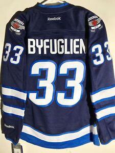 Reebok Women's Premier NHL Jersey Winnipeg Jets Dustin Byfuglien Navy sz L