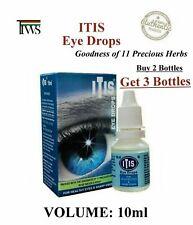 ITIS Eye Drops 10ml Herbal Safe Sharp Vision BUY 2 GET 3 @ $3.53 each