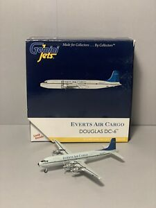 Gemini Jets 1:400 Everts Air Cargo DC-6 GJVTS1151