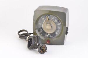 GOOD GE TYPE T-48 120SEC. INTERVAL DARKROOM TIMER, TESTED