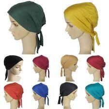 Women Lady Cotton Muslim Hijab Cap Islamic Under Scarf Headwear Head Wrap Cover