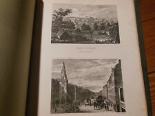 Strath-Clutha Beauties of Clyde Romantic Journey Leighton 1829 many Copper