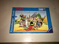 ASTERIX AND VILLAGE 500 Puzzle RAVENSBURGER 100% COMPLETE IN GREAT CONDITION