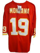 1994 Kansas City Chiefs Joe Montana Mens S-M-L-XL-3XL Mitchell Ness Jersey $150
