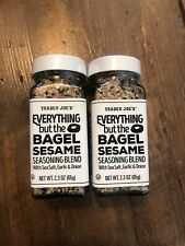 🔥Trader Joe's Everything but the Bagel Sesame Seasoning Blend 2.3oz x2 PACK