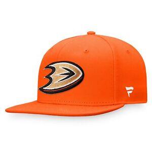 Anaheim Ducks Fanatics Branded Core Primary Logo Fitted Hat - Orange