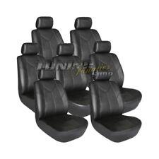 7x PREMIUM Leder Kunstleder Sitzbezug Schonbezüge Autositzbezüge für VAN BUS #25