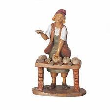 "New ListingFontanini, Nativity Figure, Darius The Baker, 7.5"" Scale, Collection, Handmade i"