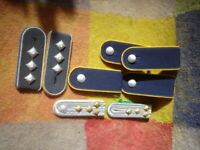 A QTY OF EAST GERMAN POLICE/ARMY SHOULDER STRAPS / EPAULETTES 4 SETS SEE PICS