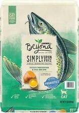 New listing Purina Beyond Grain Free Natural Ocean Whitefish & Egg Recipe Dry Cat Food,11 lb