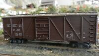 Roundhouse MDC Vintage HO 40' Seaboard Outside Braced Boxcar All Diecast  Exc.