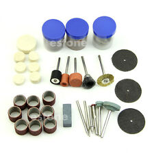 105pcs Drill Bit Rotary Set Kit Hobby Polishing Grinding Sanding Engraving Tool