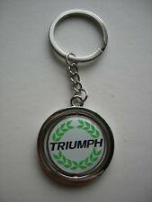TRIUMPH SPITFIRE TR3 TR4 TR6 STAG  METAL KEY FOB KEY RING KEYRING KEY CHAIN
